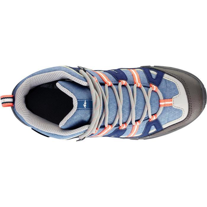 Chaussures de randonnée enfant NH500 Mid imperméables JR corail - 1125366