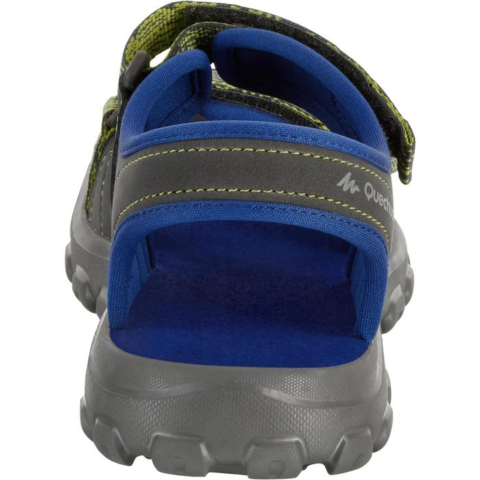 Sandalias de senderismo júnior MH100 JR azul