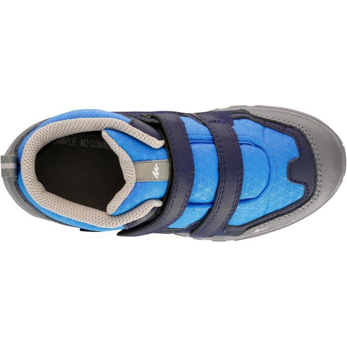 Chaussures de randonnée enfant NH500 Mid imperméables JR corail - 1125369