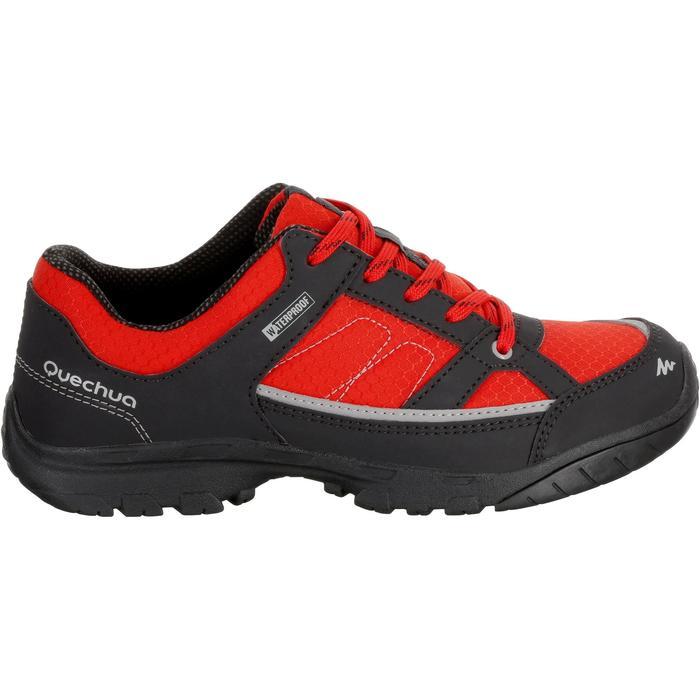 Chaussures de randonnée enfant NH100 imperméables Bleu Corail - 1125371