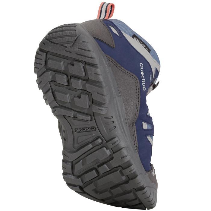 Chaussures de randonnée enfant NH500 Mid imperméables JR corail - 1125376