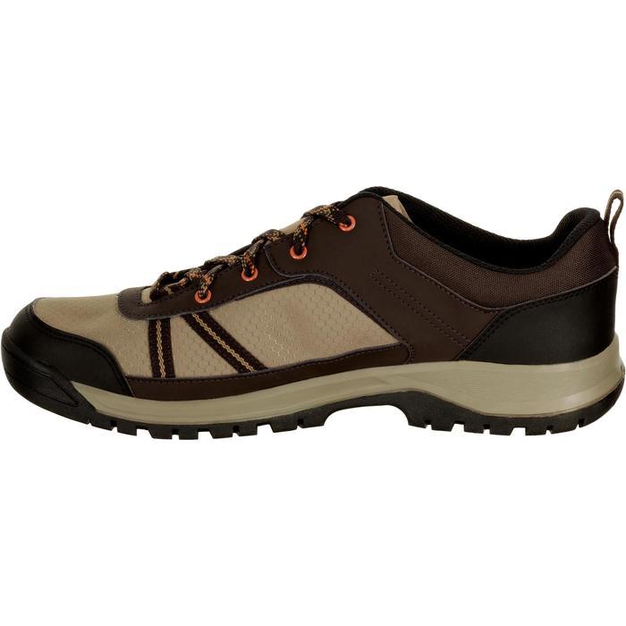 Chaussure de randonnée nature NH300 imperméable noire homme - 1125377