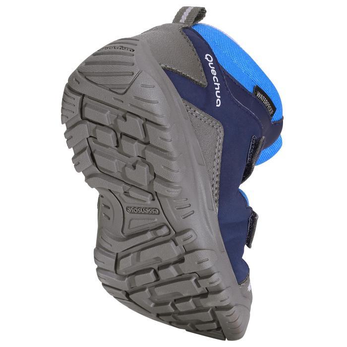 Chaussures de randonnée enfant NH500 Mid imperméables JR corail - 1125383