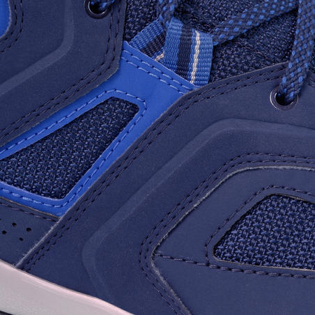 MH100 waterproof Men's Hiking shoes blue