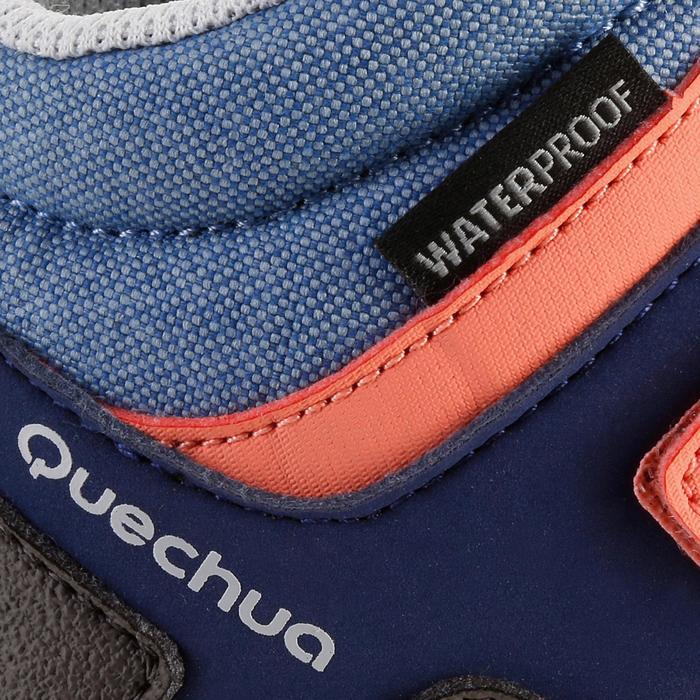 Chaussures de randonnée enfant NH500 Mid imperméables JR corail - 1125402