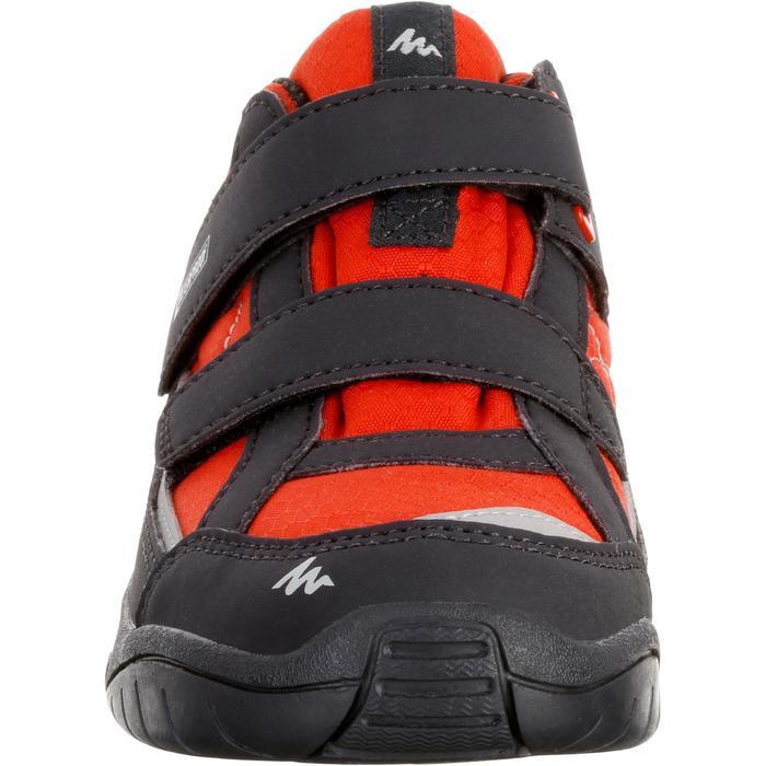 Chaussures de randonnée enfant NH100 imperméables Bleu Corail - 1125403