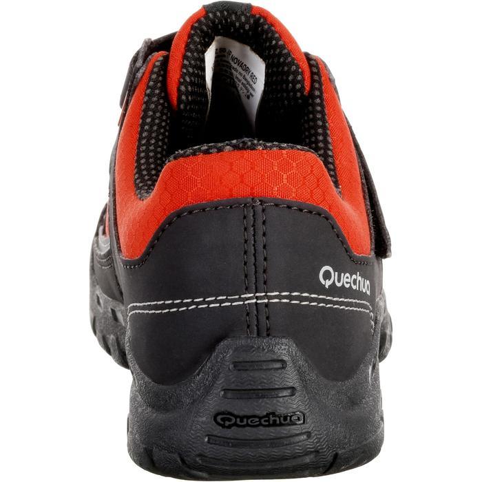 Chaussures de randonnée enfant NH100 imperméables Rouge