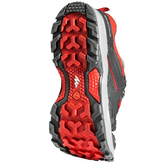 Bergschoenen voor heren Forclaz 100 zwart/rood
