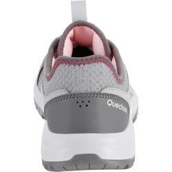 Schoenen voor wandelen in de natuur NH100 Fresh grijs dames
