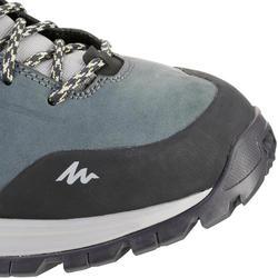 MH500 Men's Waterproof Mountain Hiking Shoes - Mottled Blue
