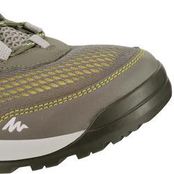 NH500 Men's Fresh nature hiking shoes, grey/yellow