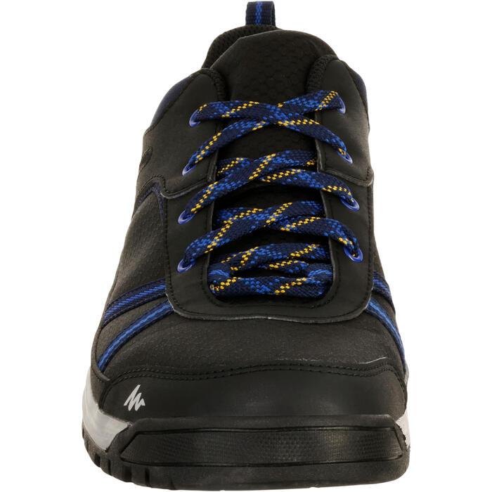 Chaussure de randonnée nature NH300 imperméable noire homme - 1125438