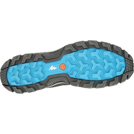 Chaussures de randonn e montagne homme mh100 homme noir quechua - Hamac sur pied decathlon ...