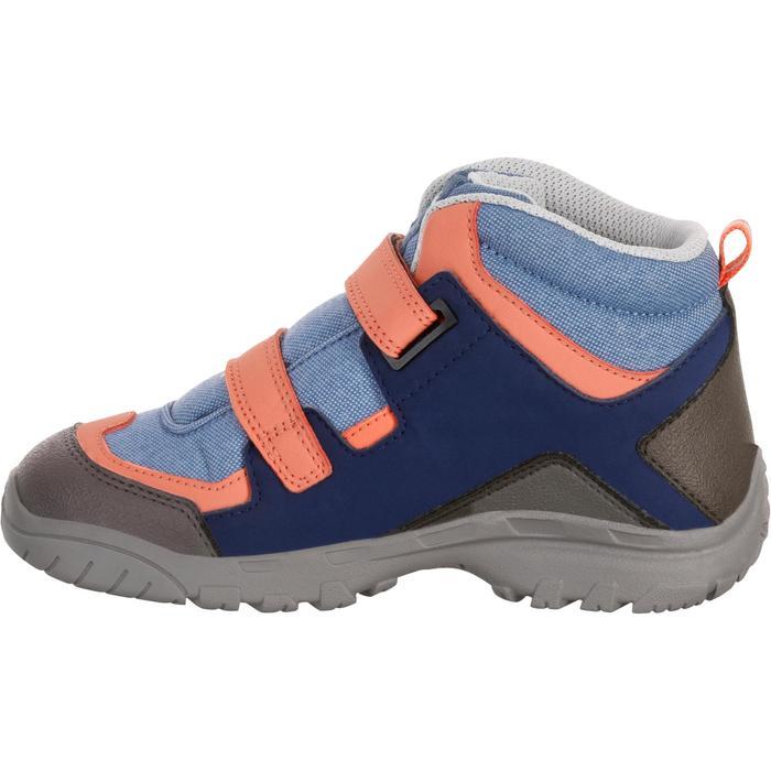 Chaussures de randonnée enfant NH500 Mid imperméables JR corail - 1125454