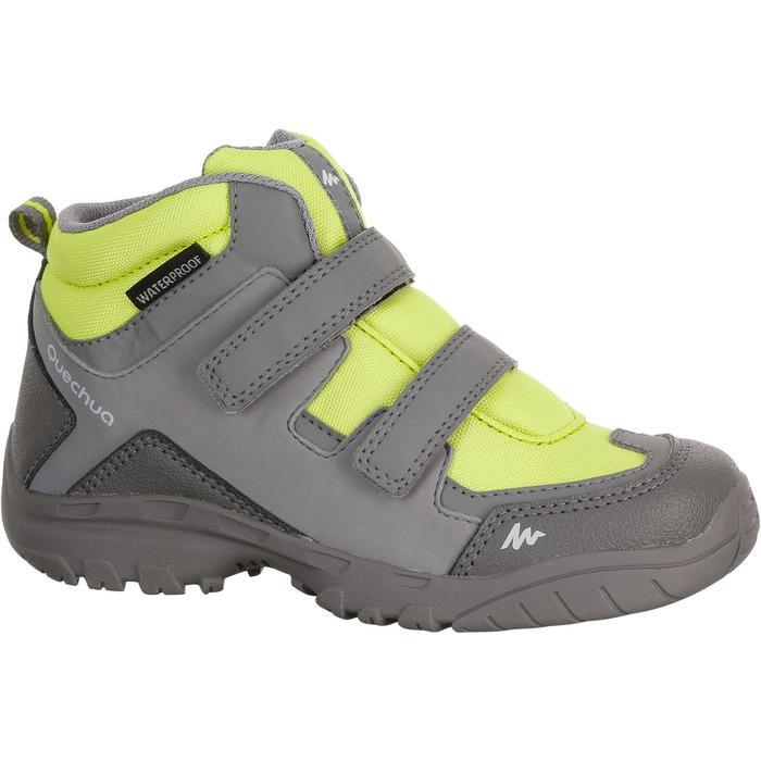 Chaussures de randonnée enfant NH500 Mid imperméables JR corail - 1125455