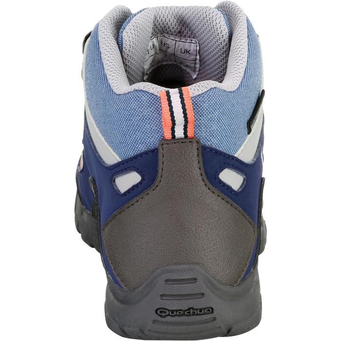 Chaussures de randonnée enfant NH500 Mid imperméables JR corail - 1125471