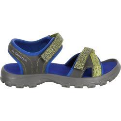 Sandalias de montaña niños MH100 JR azul tallas 32 a 37
