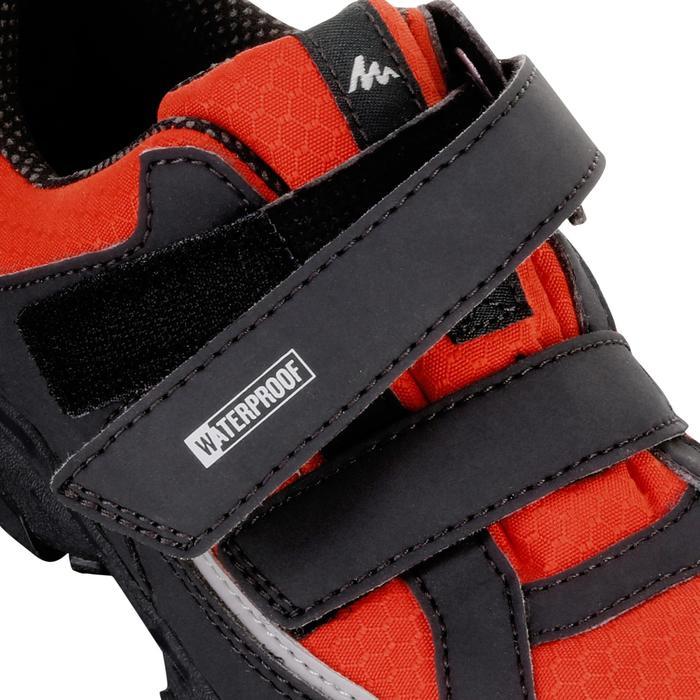 Chaussures de randonnée enfant NH100 imperméables Bleu Corail - 1125475