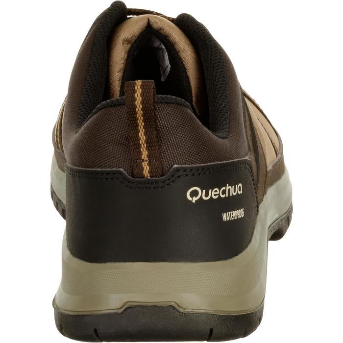 Chaussure de randonnée nature NH300 imperméable noire homme - 1125476