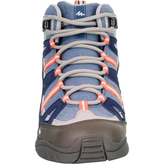 Chaussures de randonnée enfant NH500 Mid imperméables JR corail - 1125478