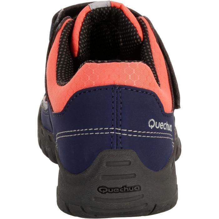 Chaussures de randonnée enfant NH100 imperméables Bleu Corail - 1125480