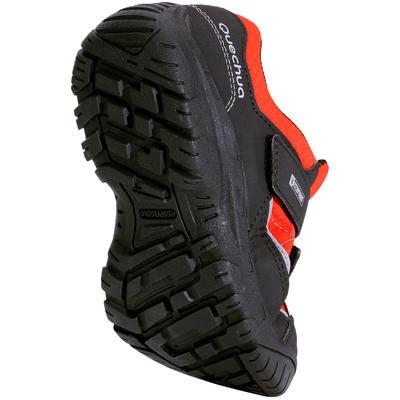 Chaussures de randonnée enfant NH100 imperméables Rouges
