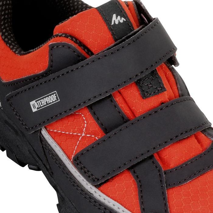 Chaussures de randonnée enfant NH100 imperméables Bleu Corail - 1125495