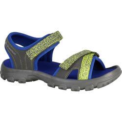 兒童健行運動涼鞋 NH100 JR 藍色