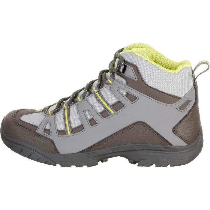 Chaussures de randonnée enfant NH500 Mid imperméables JR corail - 1125507