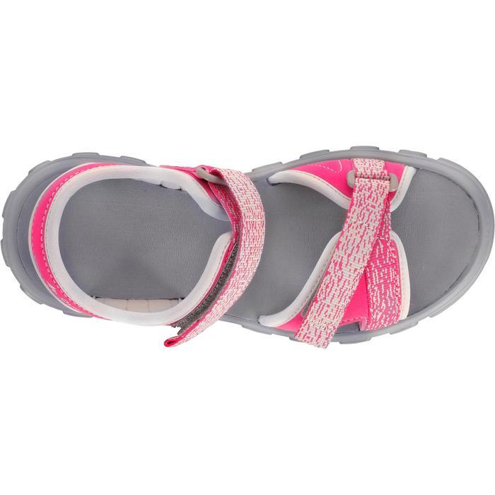 Sandalen Wandern MH100 Kinder rosa