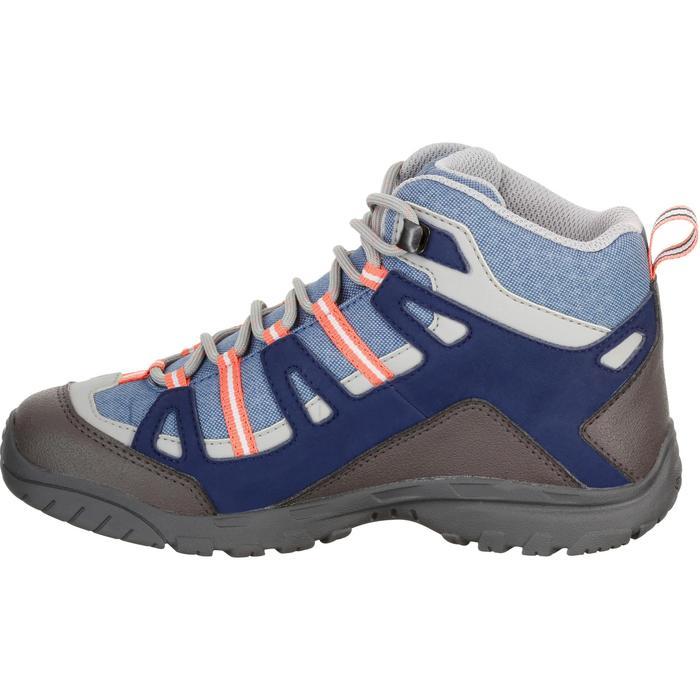 Chaussures de randonnée enfant NH500 Mid imperméables JR corail - 1125520