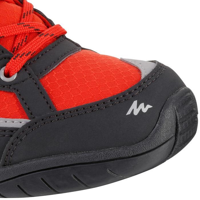 Chaussures de randonnée enfant NH100 imperméables Bleu Corail - 1125525