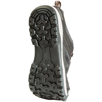 Women's Country Walking Waterproof Boots NH300 - Black