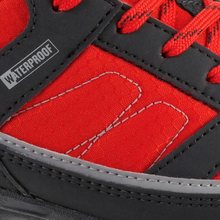 Chaussures de randonnée enfant NH100 imperméables Bleu Corail - 1125537