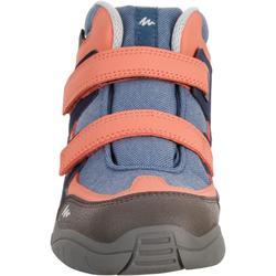 NH500 Mid Waterproof KID Hiking Shoes - Coral