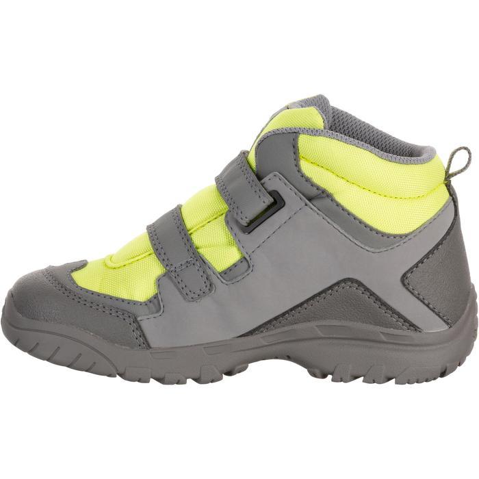 Chaussures de randonnée enfant NH500 Mid imperméables JR corail - 1125541