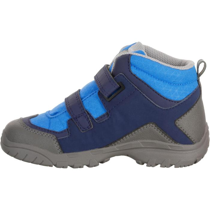 Chaussures de randonnée enfant NH500 Mid imperméable KID bleu