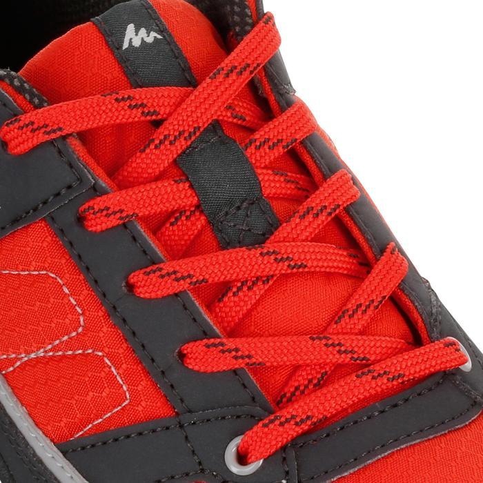Chaussures de randonnée enfant NH100 imperméables Bleu Corail - 1125559