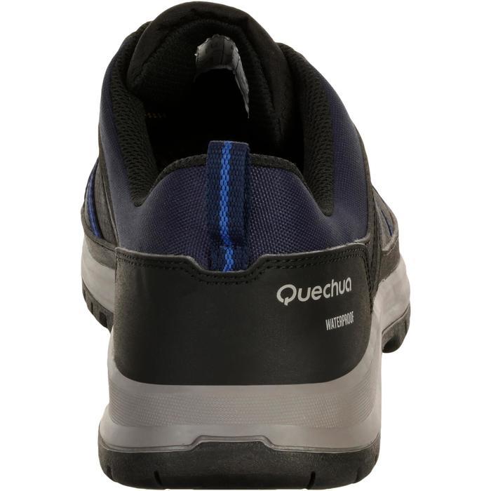 Chaussure de randonnée nature NH300 imperméable noire homme - 1125568