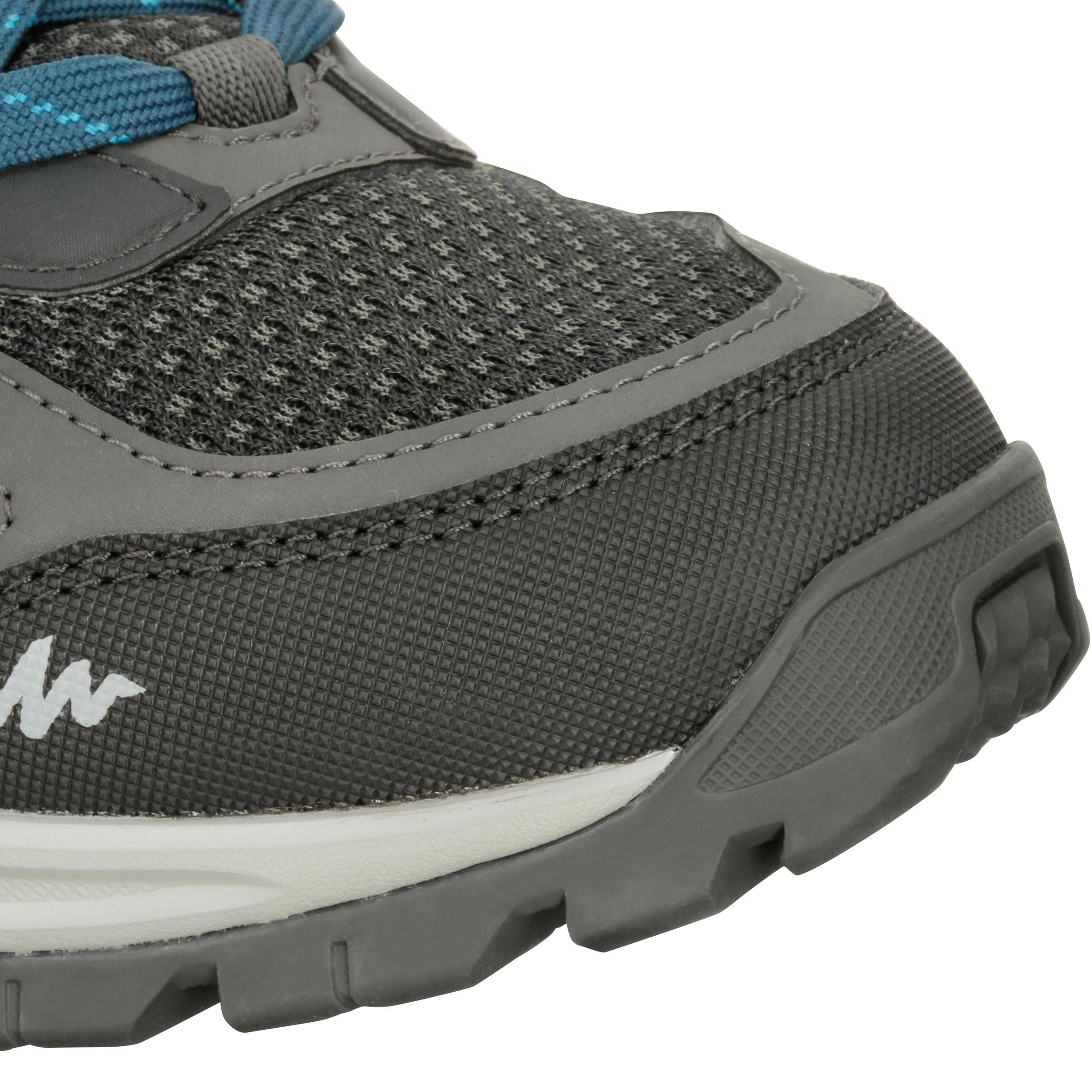 Chaussures de randonnée montagne homme Forclaz 100 noir