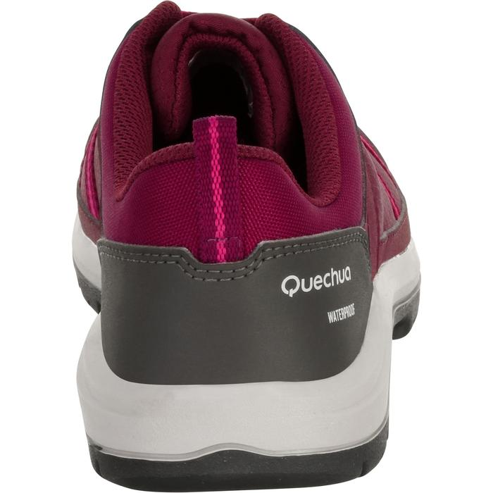 Chaussure de randonnée nature NH300 imperméable noire femme - 1125576