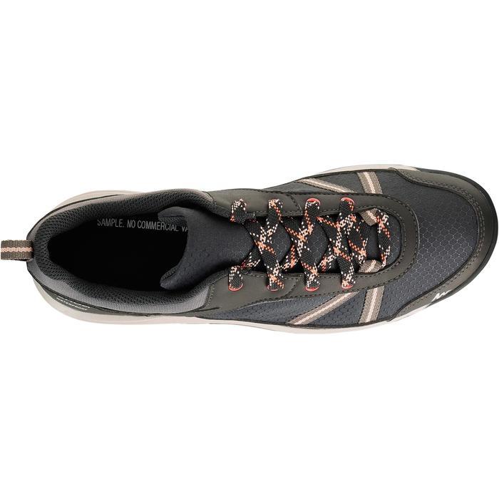 Chaussure de randonnée nature NH300 imperméable noire femme - 1125585
