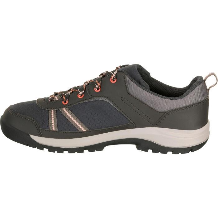 Chaussure de randonnée nature NH300 imperméable noire femme - 1125587