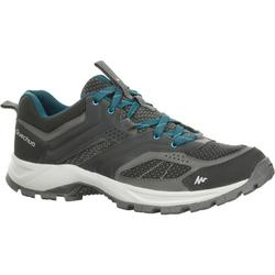 MH100 Men's Mountain Hiking Shoes - Black