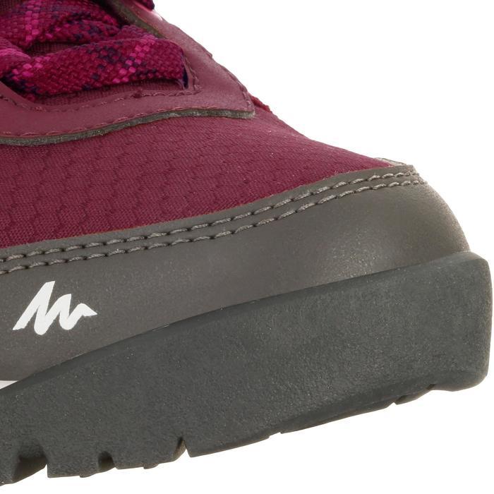 Chaussure de randonnée nature NH300 imperméable noire femme - 1125600