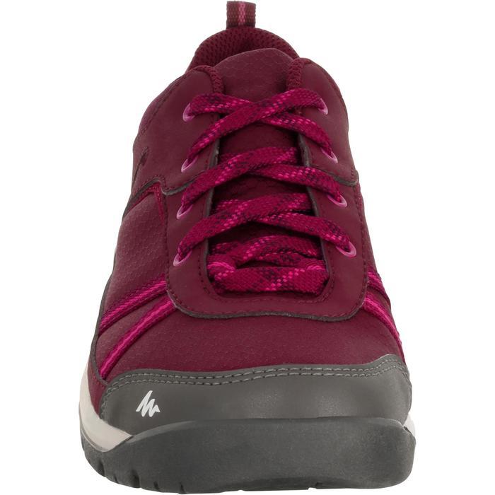 Chaussure de randonnée nature NH300 imperméable noire femme - 1125603