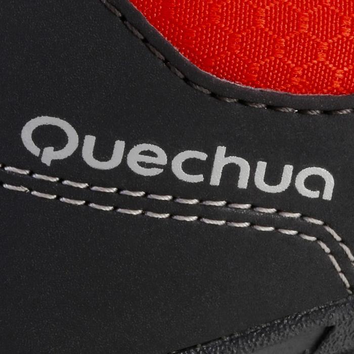 Chaussures de randonnée enfant NH100 imperméables Bleu Corail - 1125605