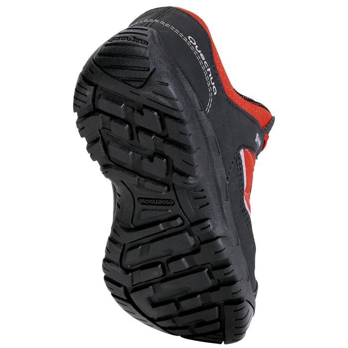 Chaussures de randonnée enfant NH100 imperméables Bleu Corail - 1125606