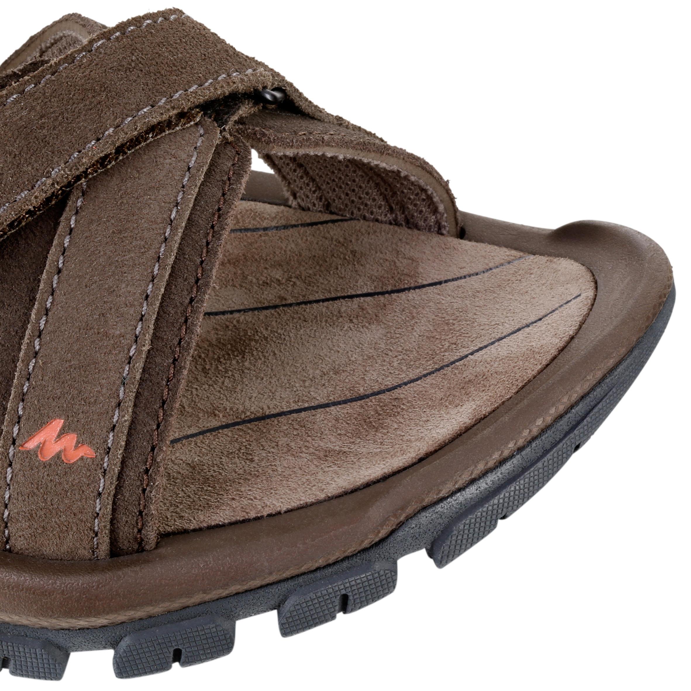 NH120 men's country walking sandals - brown