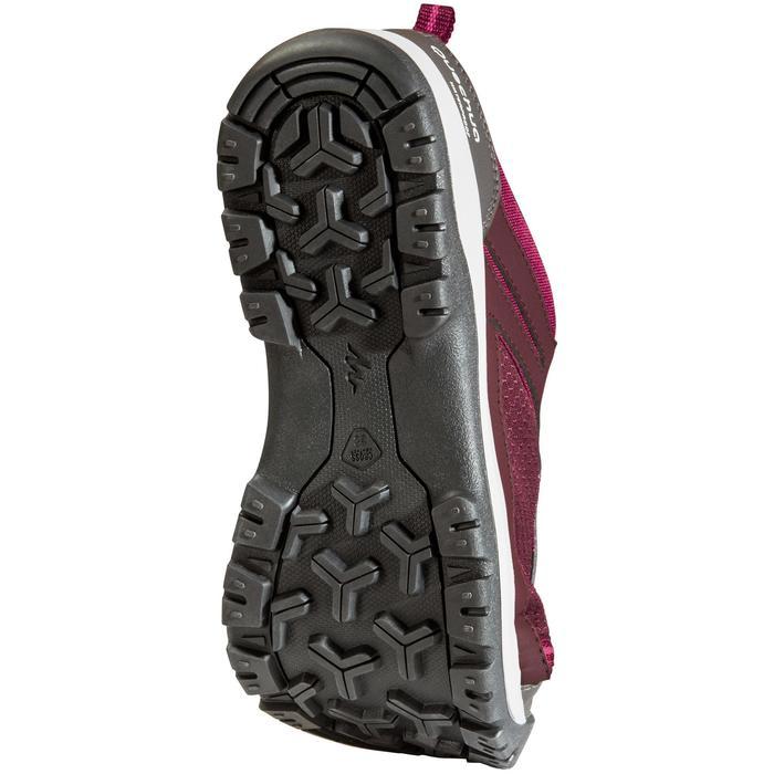 Chaussure de randonnée nature NH300 imperméable noire femme - 1125619